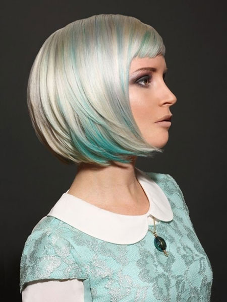 20 Cute Colors for Short Hair_6
