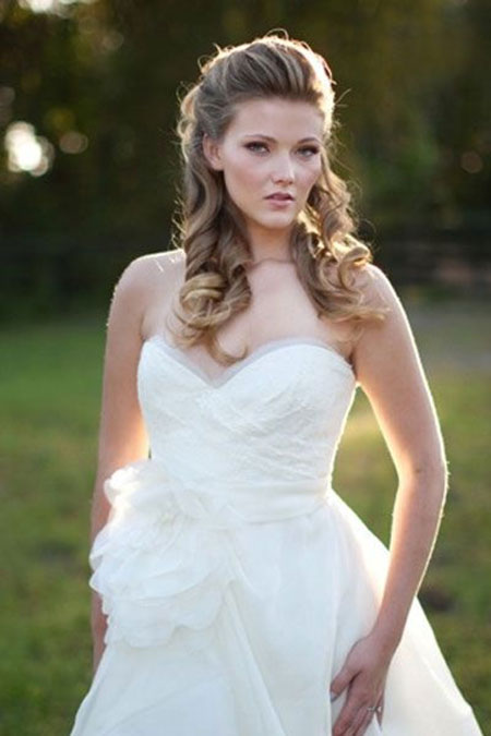 Fabulous 29 Cutest Wedding Hairstyles Hairstyles Amp Haircuts 2016 2017 Hairstyles For Women Draintrainus