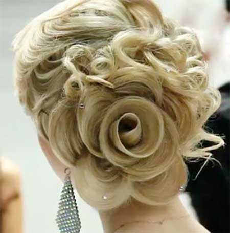 Groovy Bridal Hairstyles 2013 2014 Hairstyles Amp Haircuts 2016 2017 Short Hairstyles Gunalazisus
