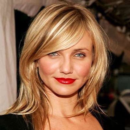 Cameron Diaz Cute Hair