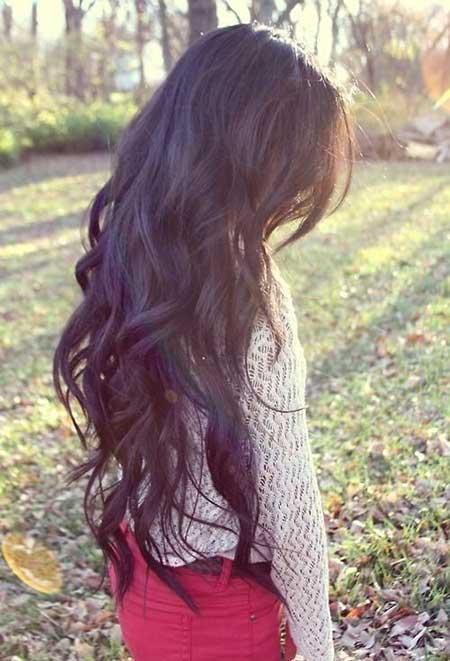 25 Long Hair Ideas | Hairstyles & Haircuts 2016 - 2017