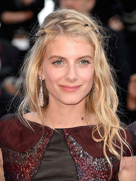 Melanie Laurent Braided Hair