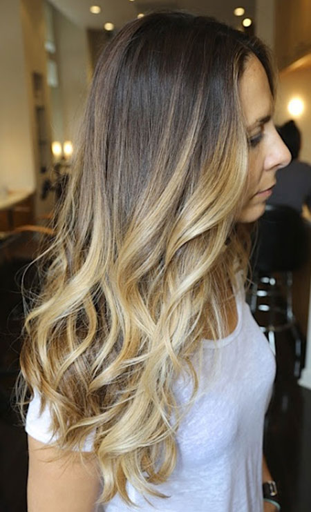 Nice ombre hair color ideas hairstyles haircuts 2016 2017 - Ombre braun blond ...