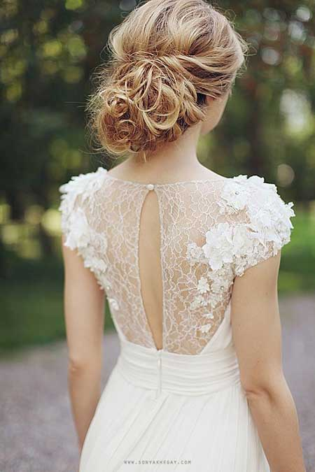 Messy Wedding Hair wedding hair styles