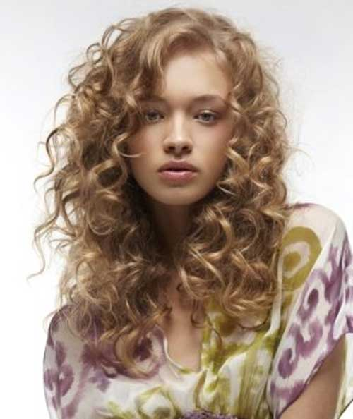 Blonde Colored Curly Hair for Women