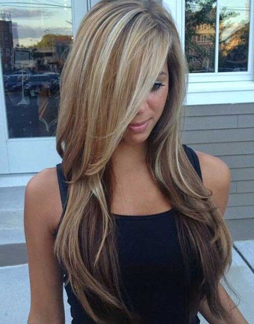 Blonde Hairstyle With Balayage Highlights