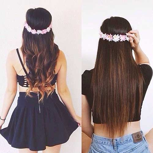 Dark Sombre Hairstyles