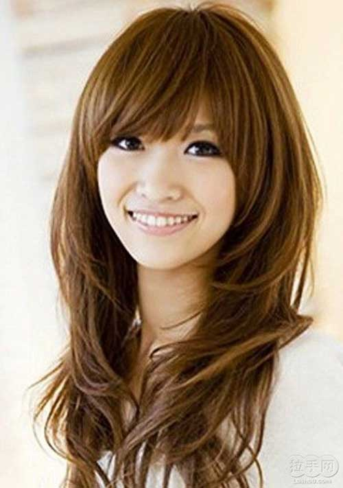 Asian Bang Hairstyles 24
