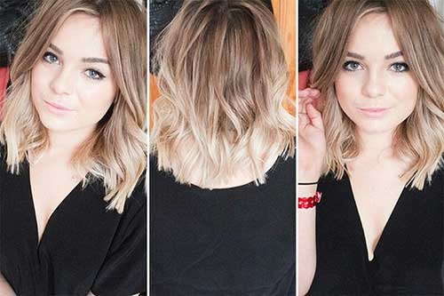 25 best ombre hair color hairstyles haircuts 2016 2017 great medium length ombre hairstyle urmus Choice Image