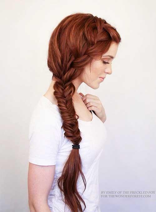 Bohemian Side Braid Style