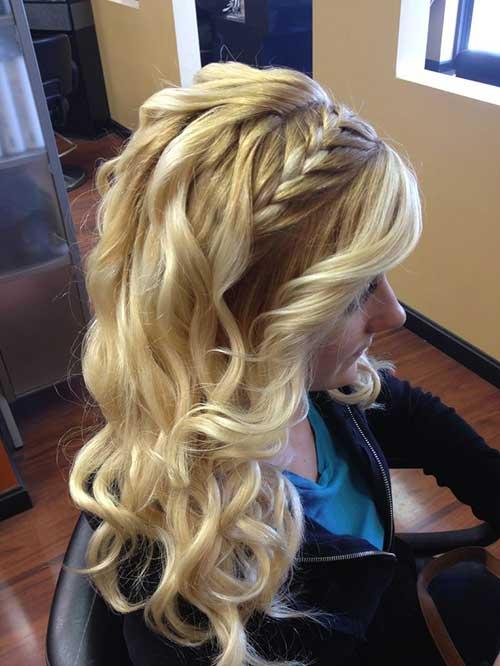 Pleasant Braid Curly Hairstyles Braids Short Hairstyles Gunalazisus
