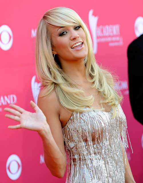 Carrie Underwood Layered Haircuts