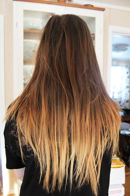 Color Ombre Hairstyles