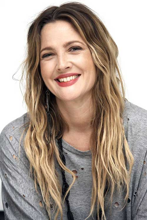 Drew Barrymore Haircuts