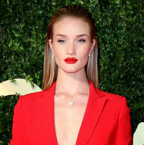 Slicked Hairstyles for Fine Straight Hair