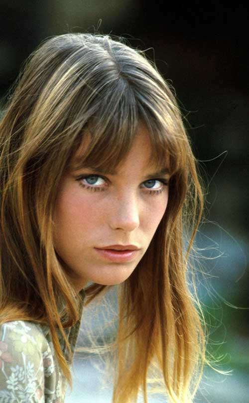 Jane Birkin Hairstyle