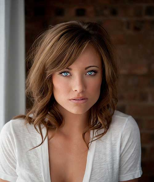 Fabulous 25 Hairstyles With Long Bangs Hairstyles Amp Haircuts 2016 2017 Short Hairstyles Gunalazisus