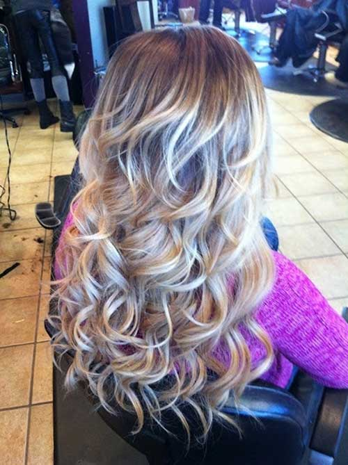 Loose Curls for Prom Style