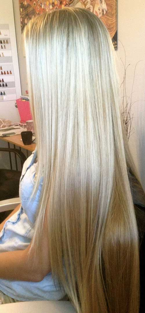 Most Beautiful Blonde Hairstyle