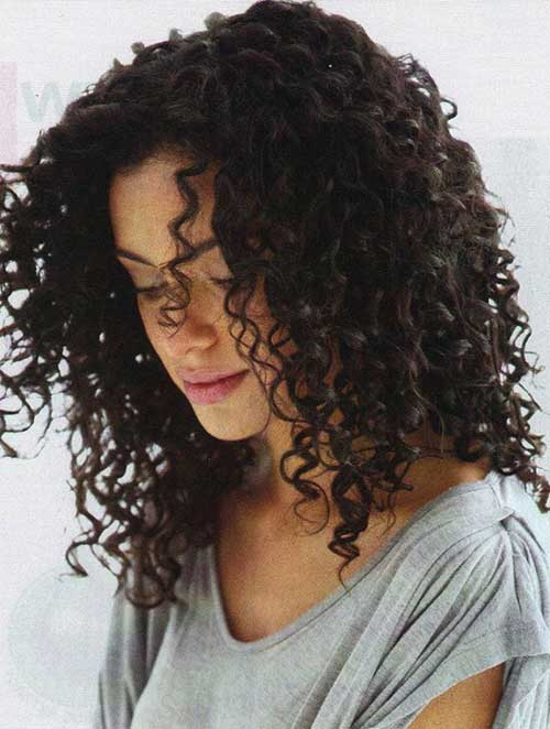 Big Natural Curly Hairstyle