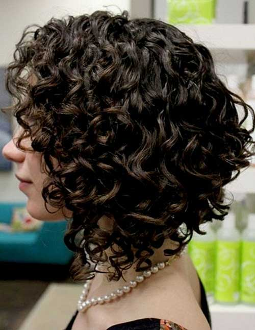 Short Curly Hairstyles for Woman
