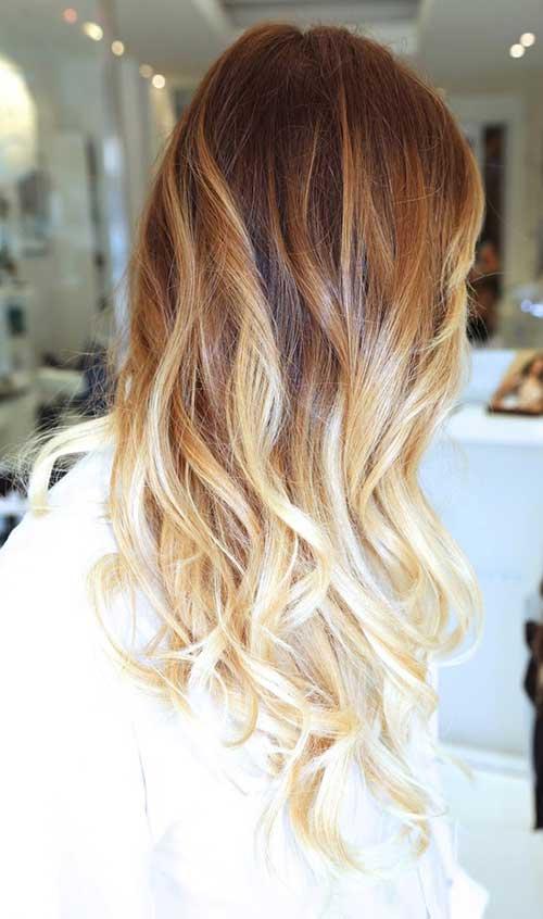 Spring Caramel Blonde Hairstyles