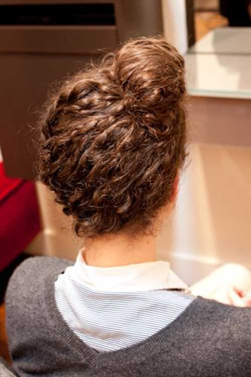 Super Curly Hairstyle