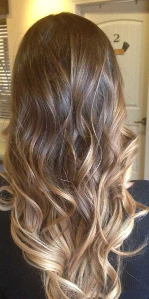 Best 2015 Layered Hair Color Trends