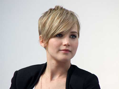 Jennifer Lawrence Pixie Cuts
