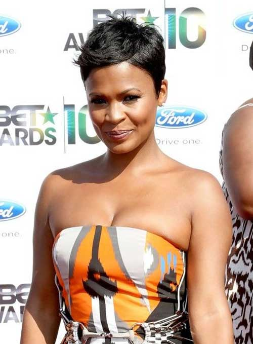 African American Short Pixie Hairstyles