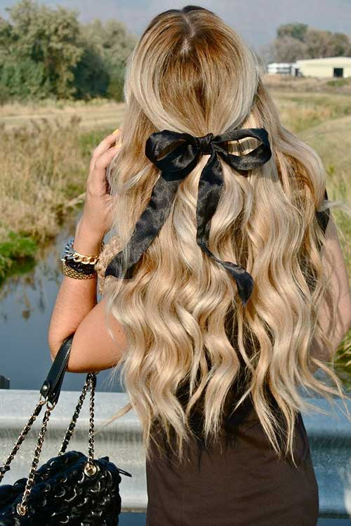 Attractive Wavy Easy Hairstyles for Long Hair