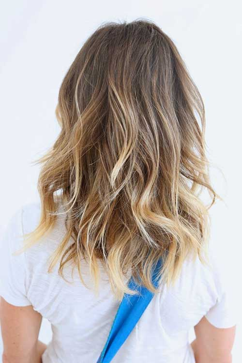 Baby Blonde Hair with Waves
