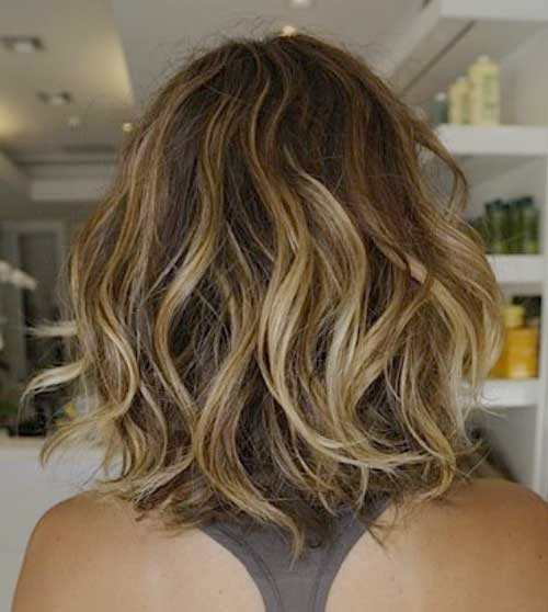 20 Popular Wavy Medium Hairstyles Hairstyles Amp Haircuts