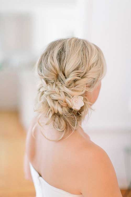 Beach Wedding Hair - beach wedding updo hairstyles