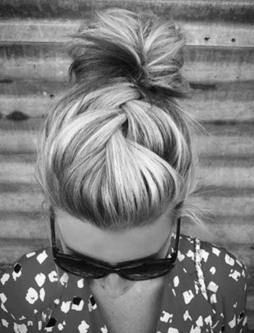 Beauty Bun Ideas for Long Hair Summer