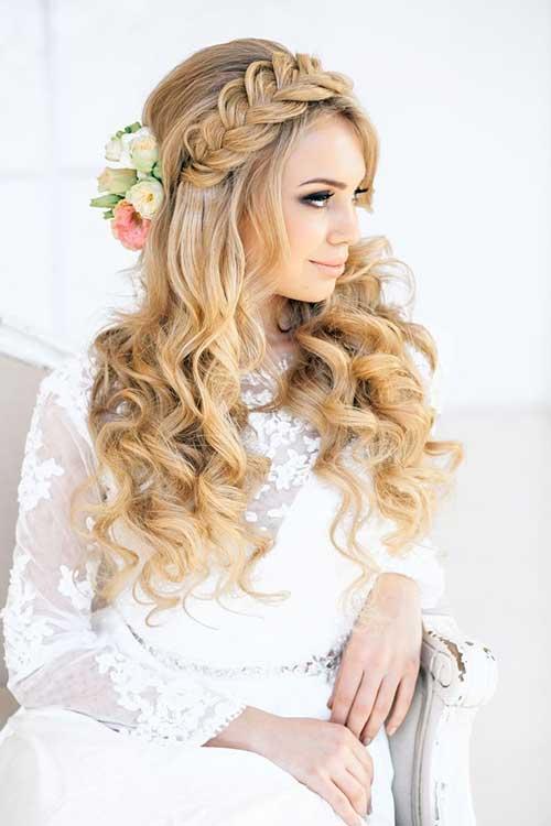 Awe Inspiring Long Hair Styles For The Bride Best Hairstyles 2017 Short Hairstyles For Black Women Fulllsitofus