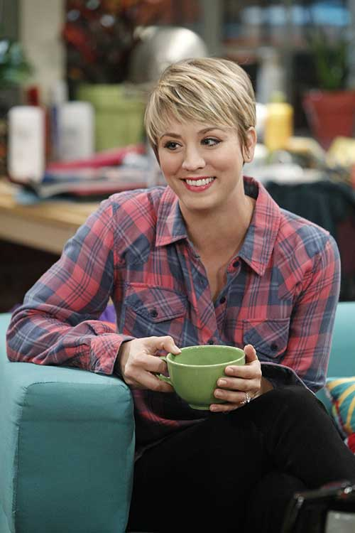 Big Bang Theory Penny's Pixie Hairstyle