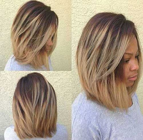 Black Medium Bob Hairstyles