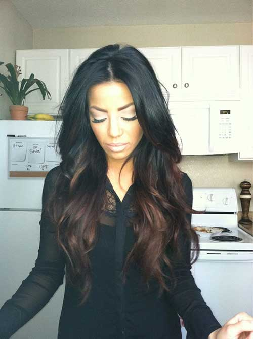 Best Black Ombre Hair