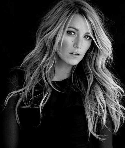 Blake Lively Layered Hairstyles