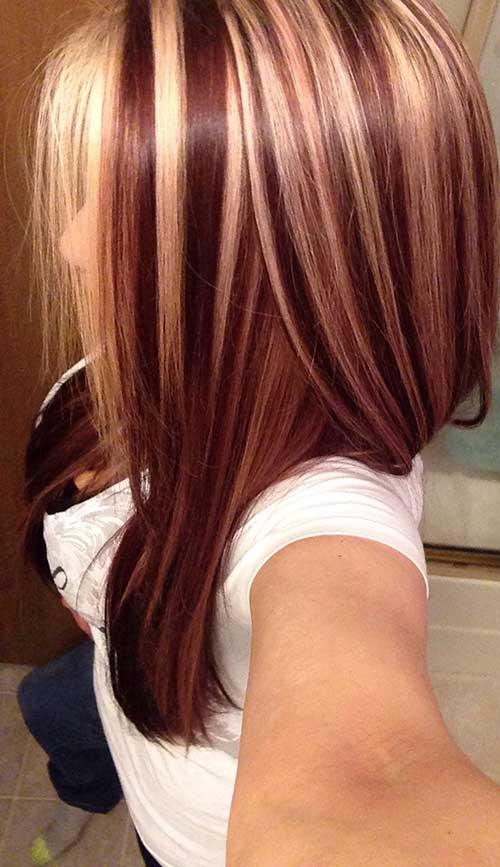 Wondrous 40 Blonde And Dark Brown Hair Color Ideas Hairstyles Amp Haircuts Short Hairstyles Gunalazisus