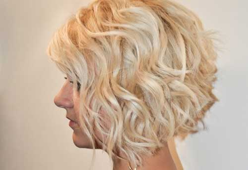 Bob Haircuts Wavy Thick New Cute Hairstyles for Women