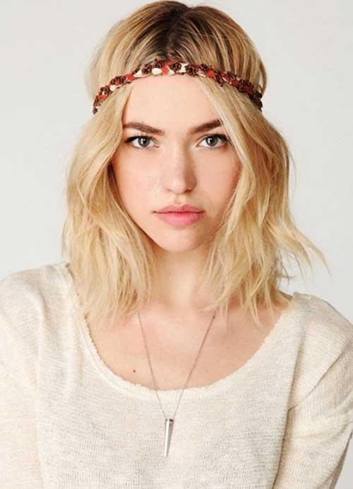 Boho Style Wavy Hair