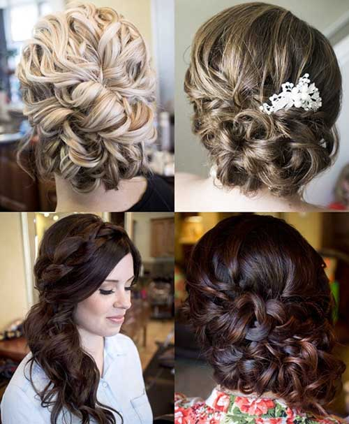 Different Braided Updo Hairstyle Ideas For Wedding