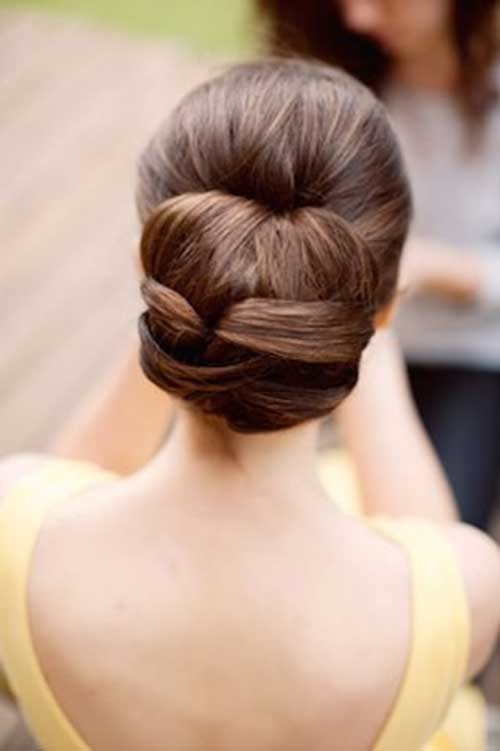Hair Up Dos : 25 Good Bun Wedding Hairstyles Hairstyles & Haircuts 2016 - 2017