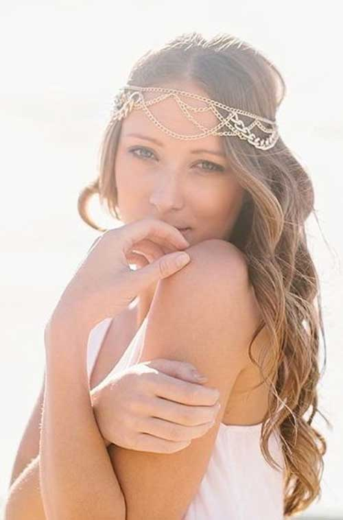 Best Bridal Hairstyles with Veil and Headpiece
