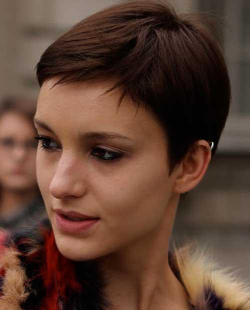 Brown Pixie Cut Hairstyles