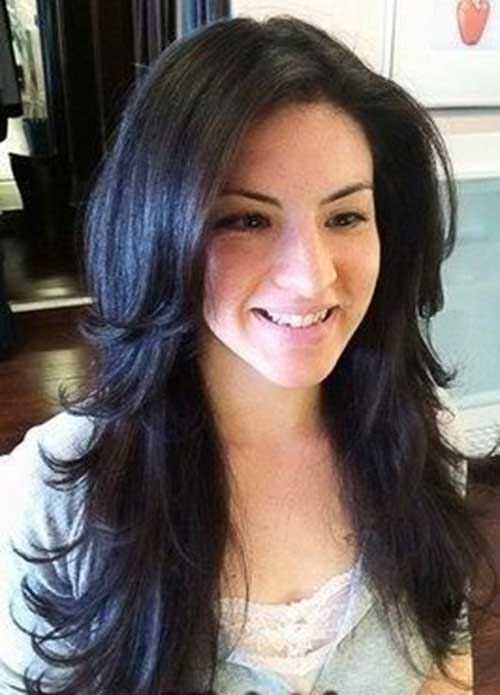 Magnificent 25 Cool Layered Long Hair Styles Hairstyles Amp Haircuts 2016 2017 Short Hairstyles For Black Women Fulllsitofus