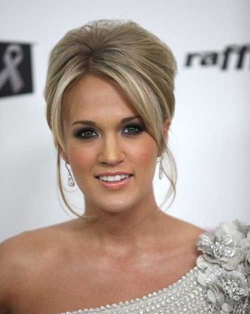 Carrie Underwood Cute Updo Hairstyles