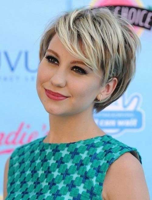 Chelsea Kane Casual Short Haircuts 2014